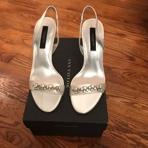 Ann Taylor size 7 slingback heels